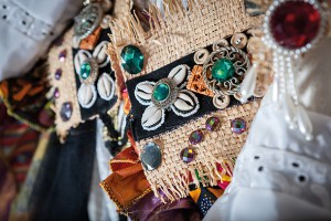 Brixton-made costume detail. Photo by Toby Keane
