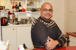 Ray Mahabir, founder of Sunshine International Arts and Carnival Arts Food Empowerment. Photo by Ruth Waters